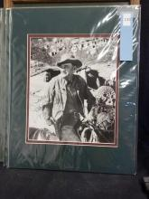 Lot 110: JOHN MC INTIRE SIGNED WESTERN MOVIE STILL PHOTO
