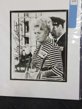 Lot 124: SHELLY WINTERS BLACK & WHITE SIGNED PUBLICITY PHOTO