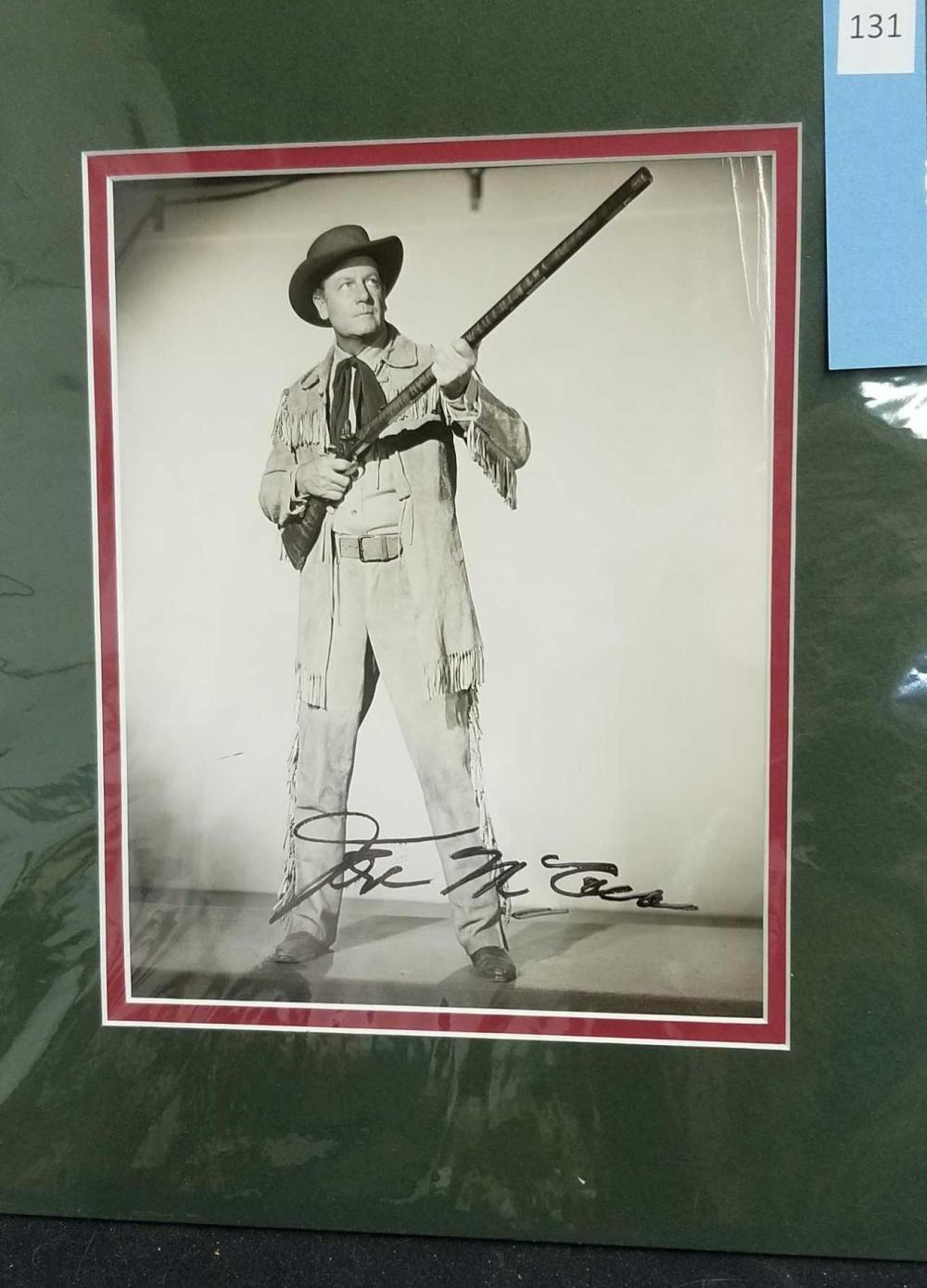 JOEL MC REA BLACK & WHITE WESTERN SIGNED PUBLICITY PHOTO