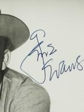 Lot 137: GENE EVANS WESTERN BLACK & WHITE PUBLICITY PHOTO