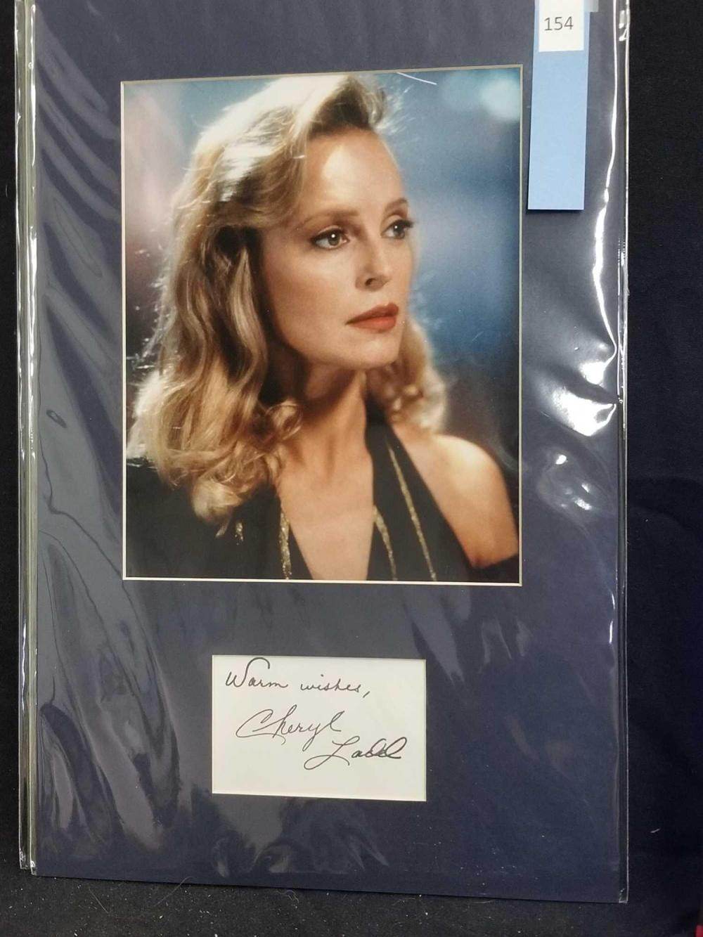 CHERYL LADD COLOR PUBLICITY PHOTO & SIGNATURE CARD