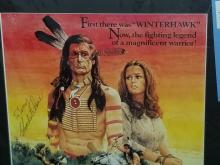 """Lot 164: """"GRAYEAGLE"""" REPRODUCTION COLOR MOVIE POSTER SIGNED W/ SIGNATURE CARD"""