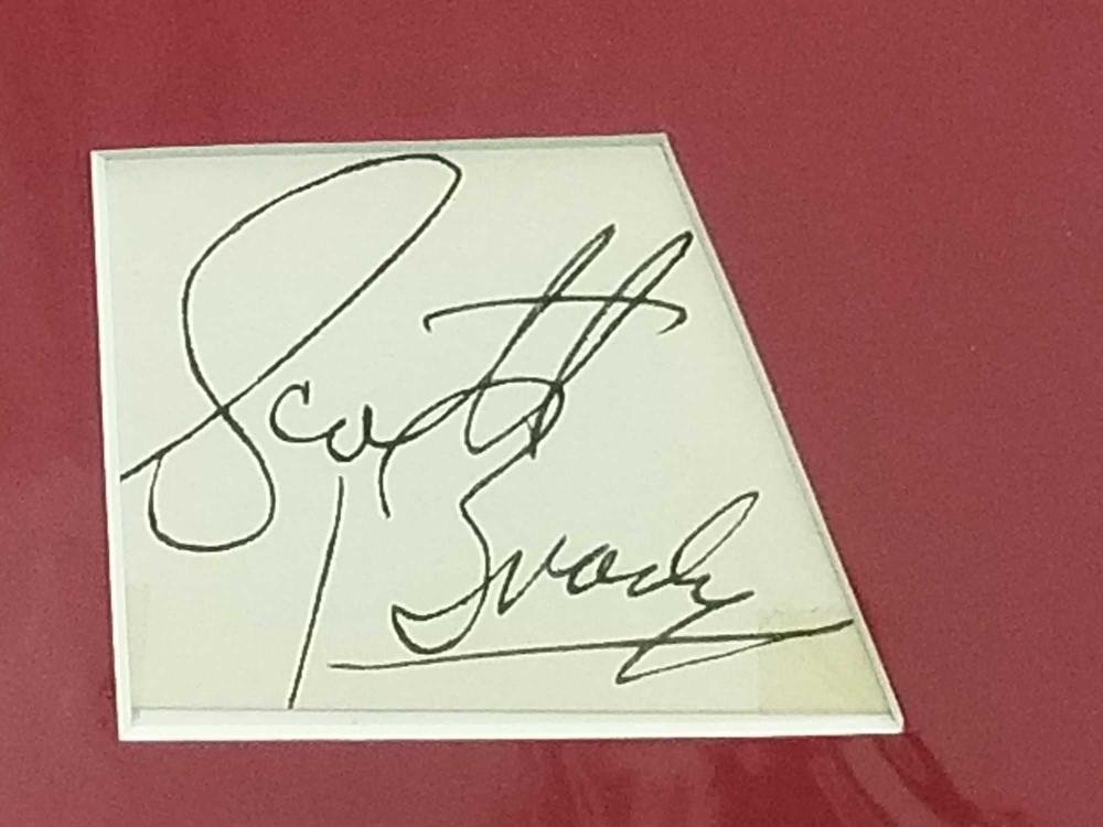 Lot 174: SCOTT BRADY BLACK & WHITE MOVIE STILL PHOTO & SIGNATURE CARD