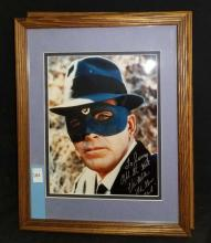 """Lot 184: VAN WILLIAMS """"THE GREEN HORNET"""" SIGNED COLOR PUBLICITY PHOTO"""