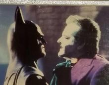 "Lot 186: JACK NICHOLSON ""BATMAN"" SIGNED COLOR MOVIE STILL PHOTO"