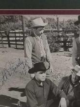 Lot 198: SCOTT BRADY BLACK & WHITE SIGNED MOVIE STILL PHOTO