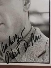 Lot 199: ROBERT DE NIRO SIGNED BLACK & WHITE PUBLICITY PHOTO