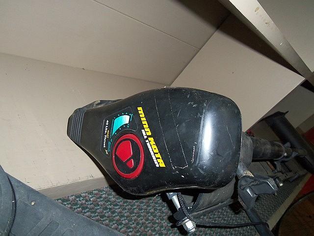 MINNKOTA ALL TERRAIN TROLLING MOTOR - 40 LBS