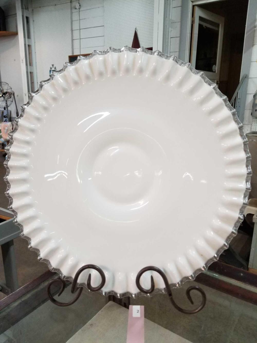 SILVERCREST PUNCH BOWL UNDERPLATE