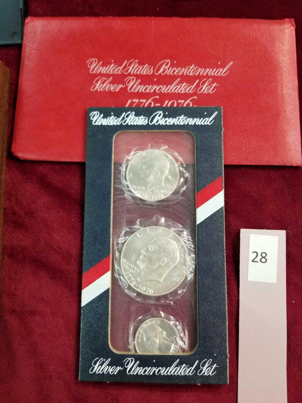 1976 BI-CENTENNIAL U.S. COIN SET