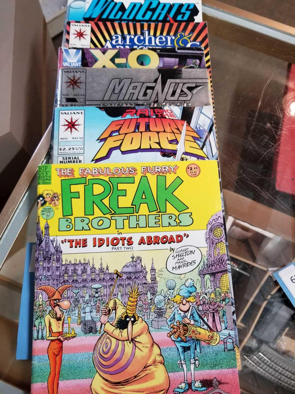 1980'S & 90'S COLLECTIBLE COMIC BOOKS - 6 ITEMS