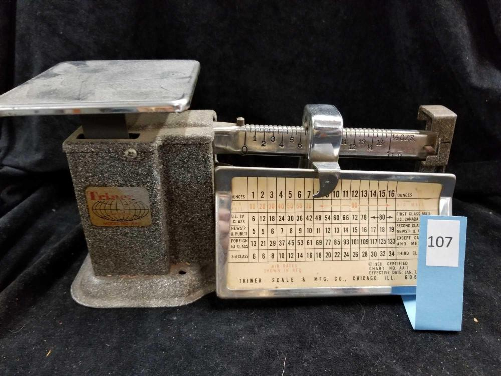 1968 TINER POSTAGE SCALE