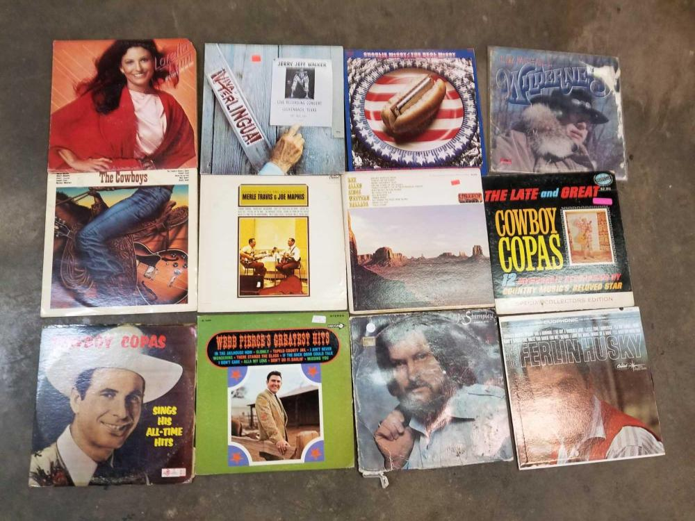 VINTAGE 33 1/3 RECORD ALBUMS - ASSORTED ARTISTS
