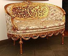 XVI. Louis salon set (6 pcs)