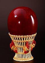 Zsolnay Egg Holder