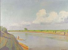 Jenő, id. Benedek (1906-1987): Tisza at Szolnok