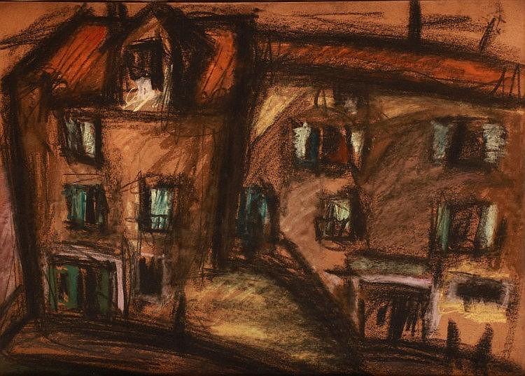 György Kádár (1912-2002): Small Town Houses