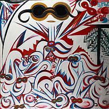 Bada Dada (1963-2006): Snowy owl party with white mice, 2003