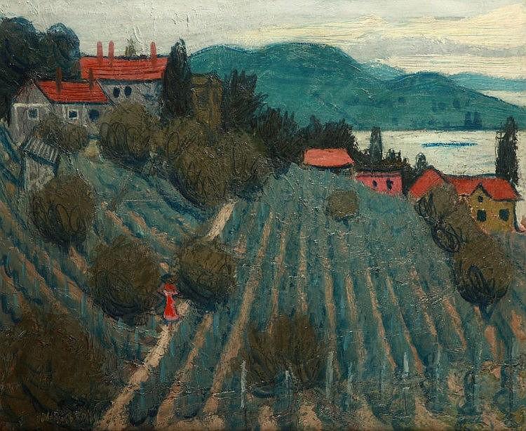 Béla Czene (1911-1999): Badacsony