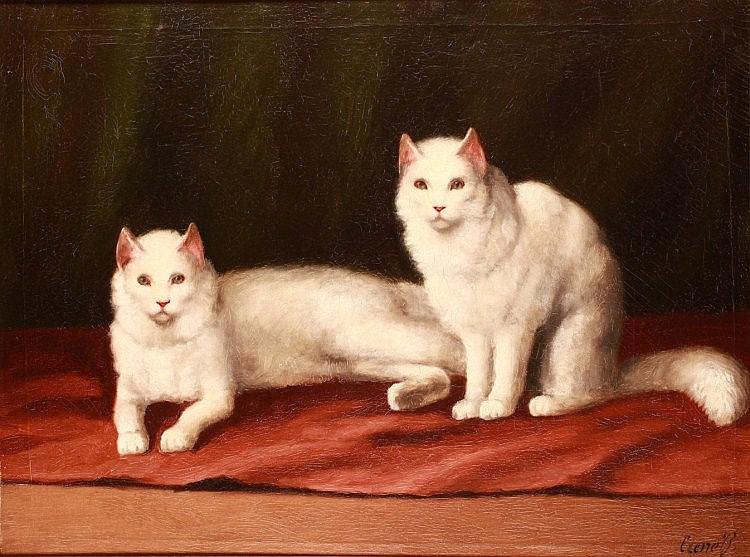 Béla Czene (1911-1999): Cats