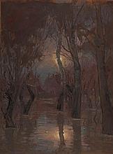 János Bozsó (1922-1998): Floodplain Forest