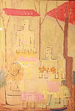 Pál Bor (1889-1982): Market Fény Street