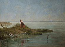 Kálmán Bognár: Fishermen at Füred