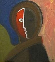 János Aknay (1949): The painter angel