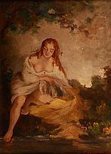 Kazacsay Gerőné (Hirsch Lujza) (1871-?) Toweling Nude
