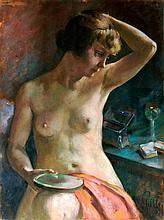 Zoltán Páldy (1884-1939) Nude