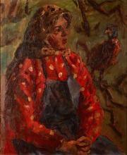 Girl with Pheasant