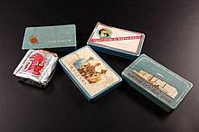 Cigar Boxes, match labels and five-year plan tobacco products