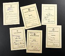 Peace Loan 6 pcs 1950-1955