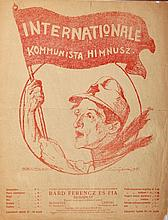 Internationale - Communist anthem (sheet music)