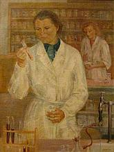 János Bizse (1920-1981) Laboratory