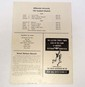 VINTAGE 1957 FOOTBALL PROGRAM - WILLAMETTE vs. CALIFORNIA AGGIES