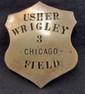 CHICAGO WRIGLEY FIELD USHER BADGE