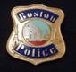 BOSTON POLICE BLACKINTON CAP BADGE