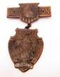 1917 CIVIL WAR G.A.R. 51ST NATIONAL ENCAMPMENT BADGE - BOSTON, MA