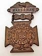 US PRE WW1 ARMY 3RD YEAR MARKSMAN DECORATION