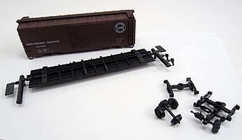 14168 - ACCURAIL SOUTHERN PAC. AAR 40' STEEL BOX  TRAIN CAR