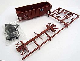 14167 - ACCURAIL SOUTHERN PAC. USRA 55 TON HOPPER TRAIN CAR