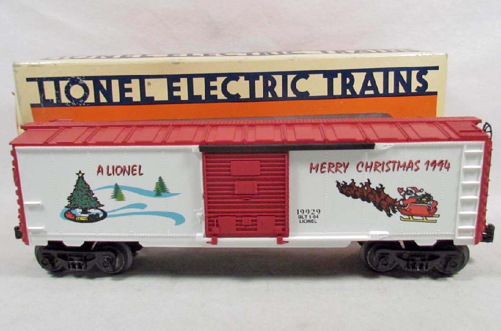 Lionel Christmas Train.Lionel Christmas Train Boxcar In Original Box