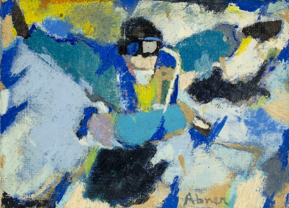 Raymond Abner (Egypt,French,1919-1999) oil painting