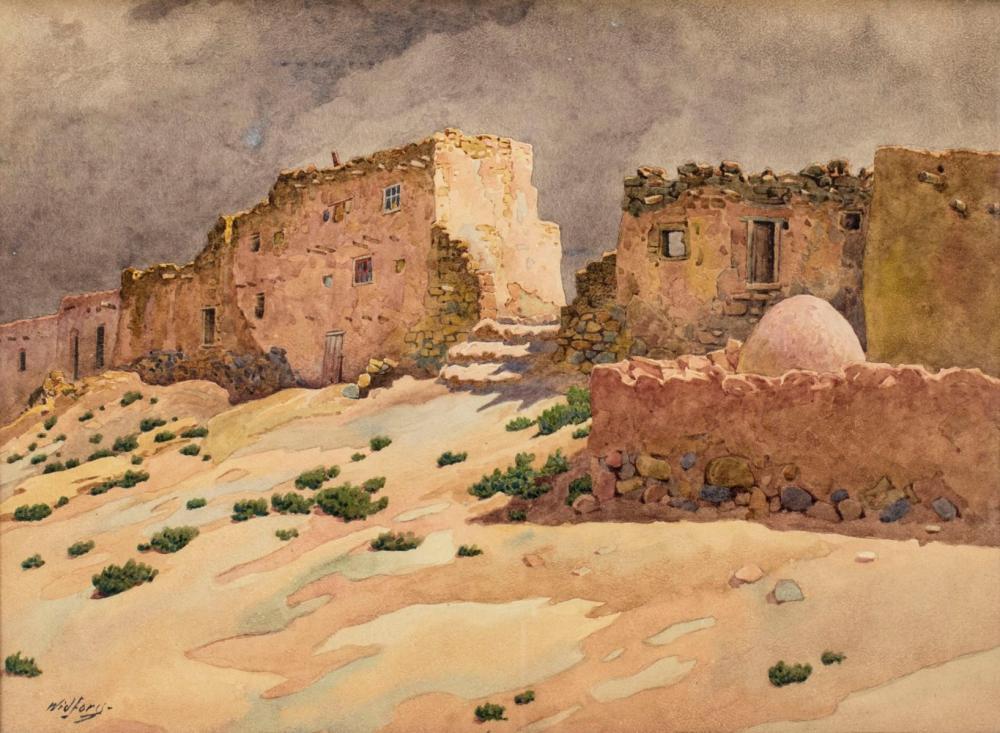 Gunnar Widforss (CA,AZ,Sweden,1879-1934) watercolor painting