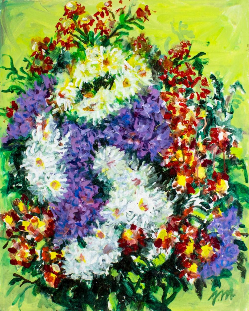 Josephine Mahaffey (TX,1903-1982) oil painting