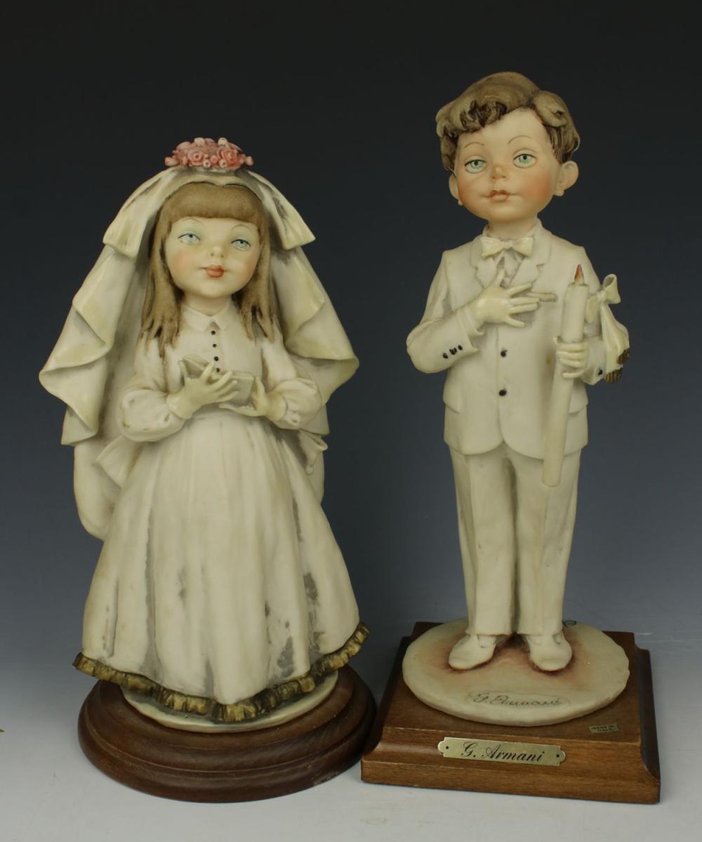 """Giuseppe Armani Figurines """"Bride & Groom"""""""