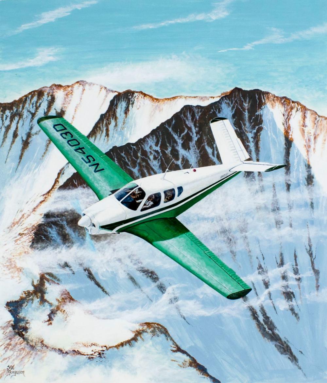 Steve Ferguson (US,born 1946) oil painting