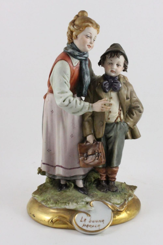 Capodimonte Tiche Figurine Good Word