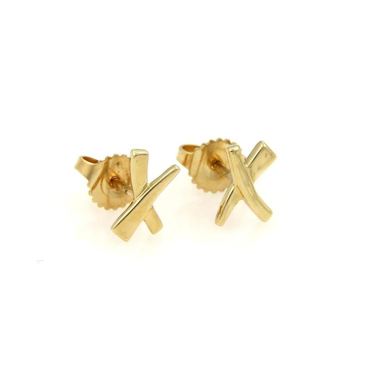 Tiffany & Co. Paloma Picasso 18k Yellow Gold Kiss